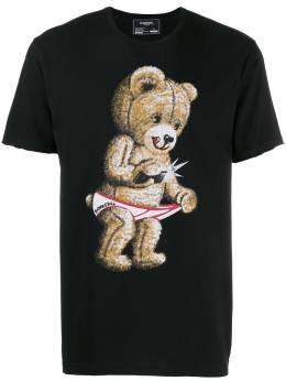 Domrebel футболка с принтом SNAPTSHIRT