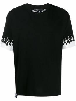 Vision Of Super футболка с принтом VOSB1FLWHITE