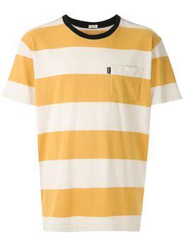 Osklen футболка Strong в полоску 59124
