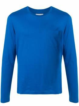 Kent & Curwen однотонная футболка с длинными рукавами K36D1TM01035