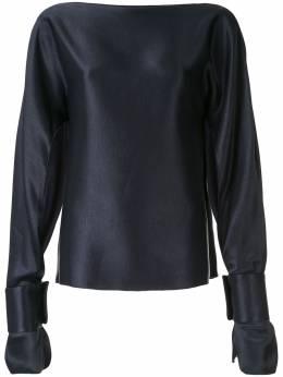Christopher Esber блузка Ilona с длинными рукавами F19T15