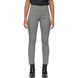 Rag&Bone Black and White Simone Trousers WAW19H7023TF23-BLK/MU