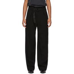 Rag&Bone Black Rochelle Trousers WAW19H70135H13-BLK