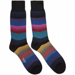 Paul Smith Multicolor Lenzo Stripe Socks M1A-800E-AF134