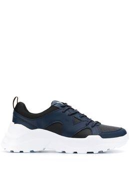 Trussardi Jeans кроссовки на утолщенной подошве 77A00196