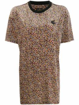 Vivienne Westwood Anglomania футболка свободного кроя с цветочным принтом 3701002121059