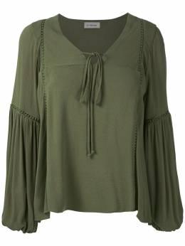 Olympiah блузка Hagia с широкими рукавами 219092