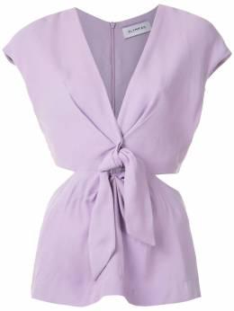 Olympiah блузка Magnolia с узлом спереди 120260