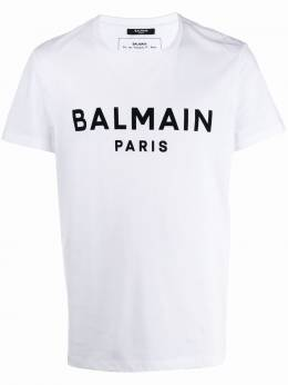 Balmain футболка с логотипом TH11601I232