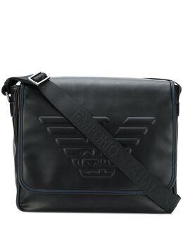 Emporio Armani logo messenger bag Y4M178YG90J