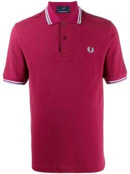 Fred Perry рубашка-поло из пике с логотипом M12PIQUET106