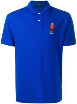 Polo Ralph Lauren рубашка-поло с вышитым логотипом 710782858