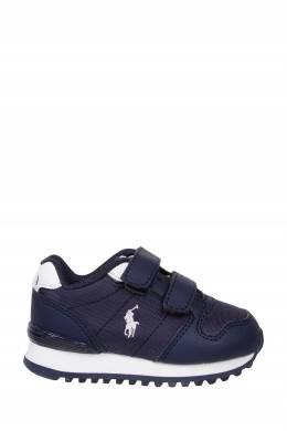 Синие кроссовки на липучках Ralph Lauren Kids 1252165605