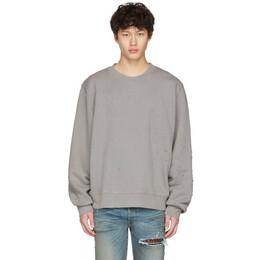 Amiri Grey Shotgun Sweatshirt S0M02126TE