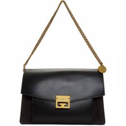 Givenchy Black Medium GV3 Bag BB501DB033