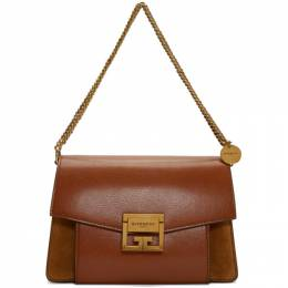 Givenchy Tan Small GV3 Bag BB501CB033*