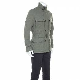 Ralph Lauren Green Wool 4 Pocket Harriot Jacket M