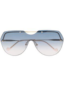 Liu Jo солнцезащитные очки в массивной оправе LJ123S