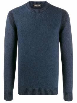 Roberto Collina свитер с круглым вырезом в рубчик RB39001