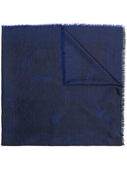 Salvatore Ferragamo logo printed shawl 682939