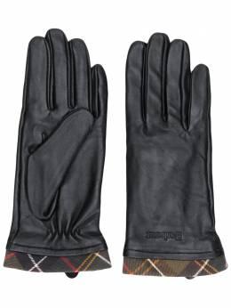 Barbour перчатки с окантовкой в клетку LGL0048