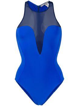 Stella McCartney купальник с полупрозрачной вставкой S7BKA0500431