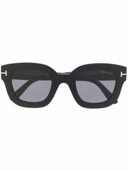 Tom Ford Eyewear солнцезащитные очки в квадратной оправе FT06594801A