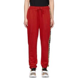 Burberry Red Raine Lounge Pants 8024955