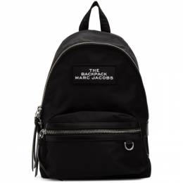 Marc Jacobs Black The Medium Backpack M0015415