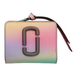 Marc Jacobs Multicolor Mini Snapshot Compact Wallet M0015842