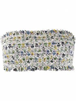 Tory Burch лиф бикини с цветочным принтом 45816118