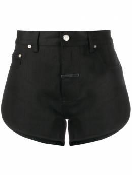 Zilver джинсовые шорты с завышенной талией FW19WST01