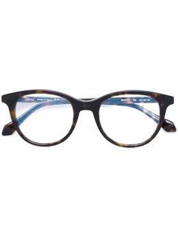 Brioni очки с круглой оправой BR0032O