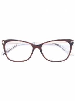 Tom Ford Eyewear очки в оправе 'кошачий глаз' TF5353