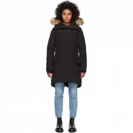 Canada Goose Black Down Rossclair Parka 2580L