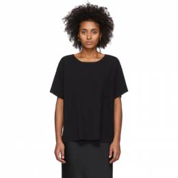T By Alexander Wang Black Tilted Pocket T-Shirt 4CC1201075