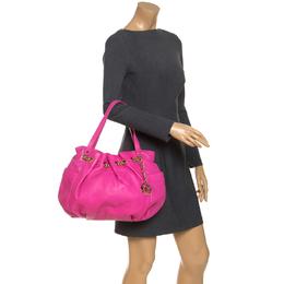 MICHAEL Michael Kors Pink Leather Chain Excess Shoulder Bag 243884