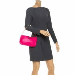 Coach Hot Pink Leather Shoulder Bag