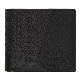 Loewe Black Puzzle Bifold Wallet 124.99.302