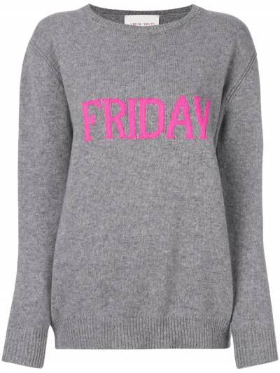 Alberta Ferretti Friday intarsia jumper V09431610 - 1