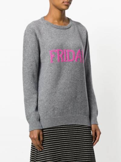 Alberta Ferretti Friday intarsia jumper V09431610 - 3
