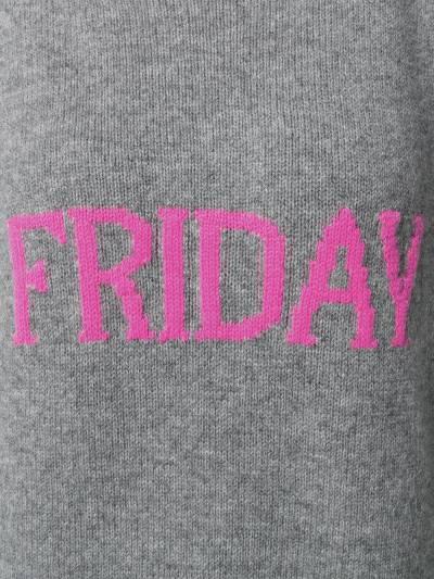 Alberta Ferretti Friday intarsia jumper V09431610 - 5