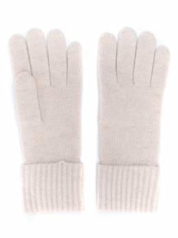 N.peal кашемировые перчатки в рубчик NPA001B