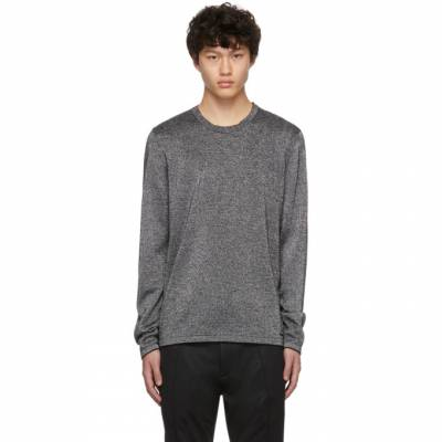 Hugo Silver Wool Sepo Sweater 50418614 - 1