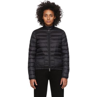 Moncler Black Down Lans Jacket F10931A1010053048 - 1