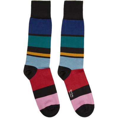 Paul Smith Multicolor Victor Stripe Socks M1A-380A-AF126 - 1