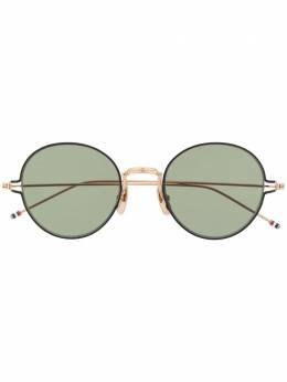 Thom Browne Eyewear солнцезащитные очки в круглой оправе TBS915