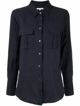 Venroy рубашка с нагрудным карманом WPCKTSHIRTLINNVY