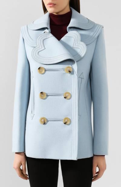 Шерстяное пальто Lanvin RW-JA715K-4149-H19 - 3