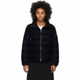 Moncler Navy Down Corduroy Copenhague Jacket F10931A52100V0080